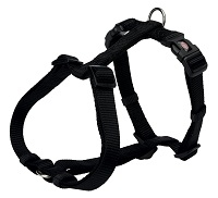 "Шлея ""TRIXIE"" для собак ""Premium H-harness"", (XL-XXL), 85-130см/38мм, черный"